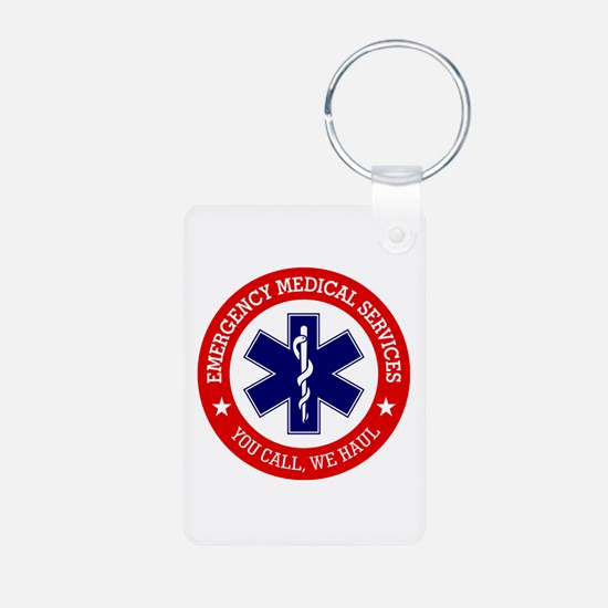 EMS (You Call, We Haul) Keychains