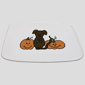 Halloween Dog Bathmat