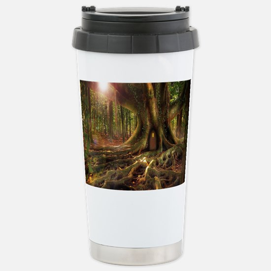 Cute Fall fairy Travel Mug