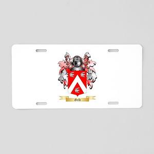 Gelb Aluminum License Plate