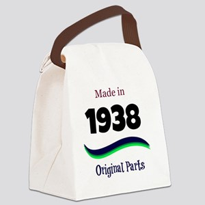 Made in 1938 Canvas Lunch Bag
