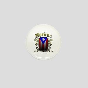 Boricua Mini Button