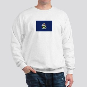 Maine Flag Sweatshirt