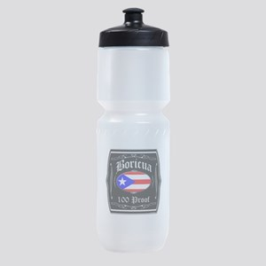 Boricua 100 Proof Sports Bottle