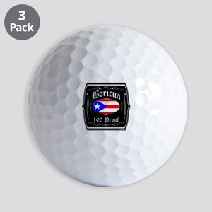 Boricua 100 Proof Golf Balls