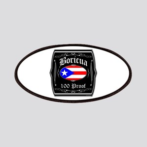Boricua 100 Proof Patches