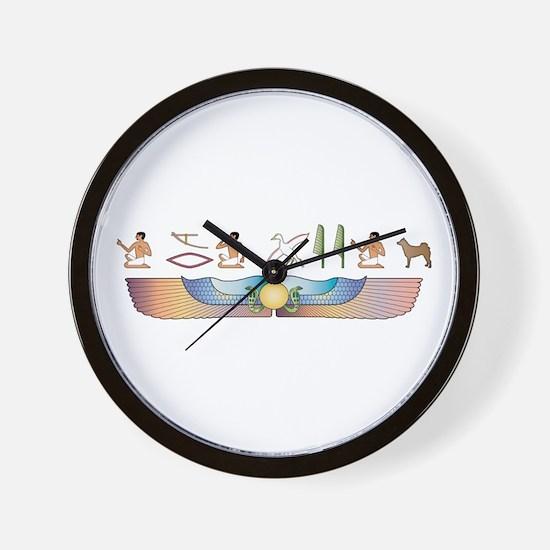 Norrbottenspets Hieroglyphs Wall Clock