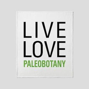 Paleobotany Throw Blanket