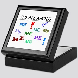 IT'S ALL ABOUT ME FUNNY Keepsake Box