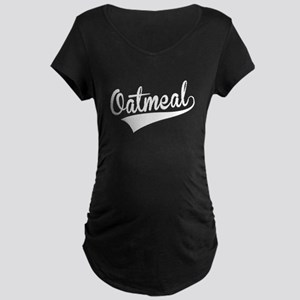 Oatmeal, Retro, Maternity T-Shirt