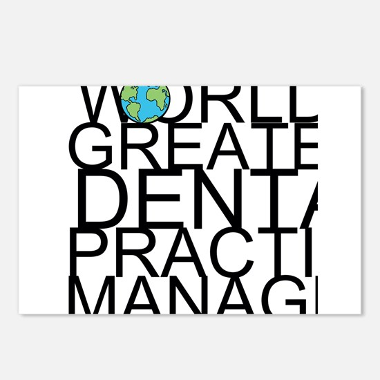 World's Greatest Dental Practice Manager Postc