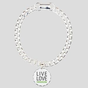 Parasailing Charm Bracelet, One Charm
