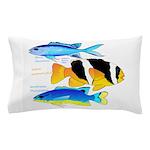 3 Damselfish Pillow Case