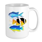 3 Damselfish c Mugs