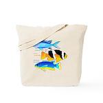 3 Damselfish c Tote Bag
