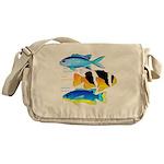 3 Damselfish c Messenger Bag