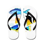 3 Damselfish c Flip Flops