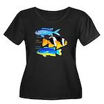 3 Damselfish c Plus Size T-Shirt