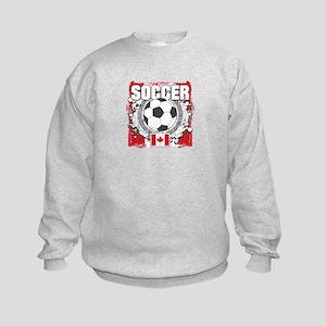 Canada Soccer Kids Sweatshirt