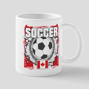 Canada Soccer Mug