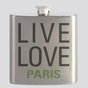 Live Love Paris Flask