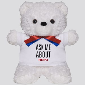 Ask Me About Reiki Teddy Bear