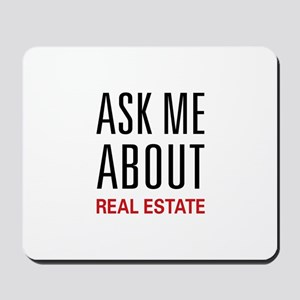 Ask Me Real Estate Mousepad