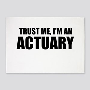 Trust Me, I'm An Actuary 5'x7'Area Rug