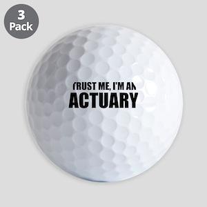 Trust Me, I'm An Actuary Golf Ball