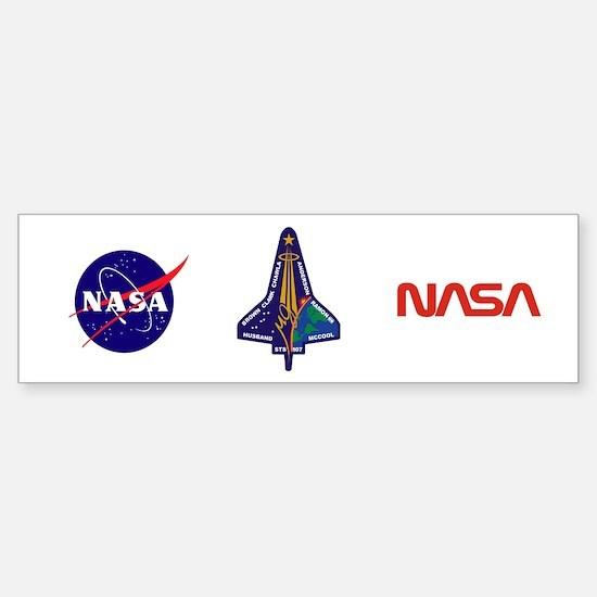 STS 107 Sticker (Bumper)