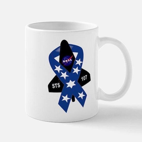 Sts 107 Commemorative Mugs