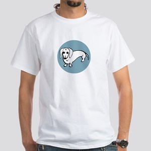 Dachshund White T-Shirt