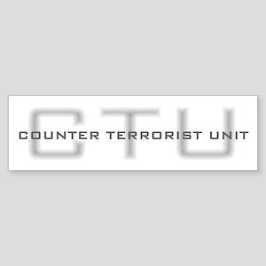 CTU Bumper Sticker
