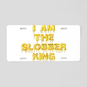 slobber_king Aluminum License Plate