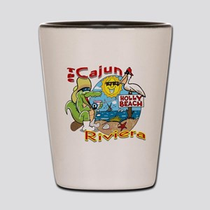 Cajun Paradise Shot Glass