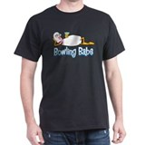 Bowling babe Mens Classic Dark T-Shirts