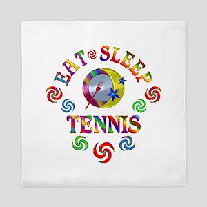 Eat Sleep Tennis Queen Duvet