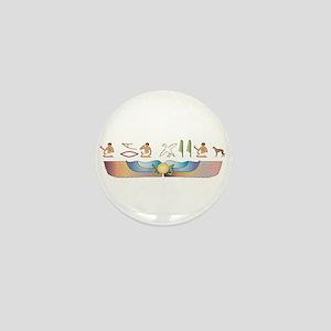 Lurcher Hieroglyphs Mini Button