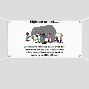 Alternative Facts do exist Banner
