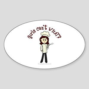 Light Chef Oval Sticker