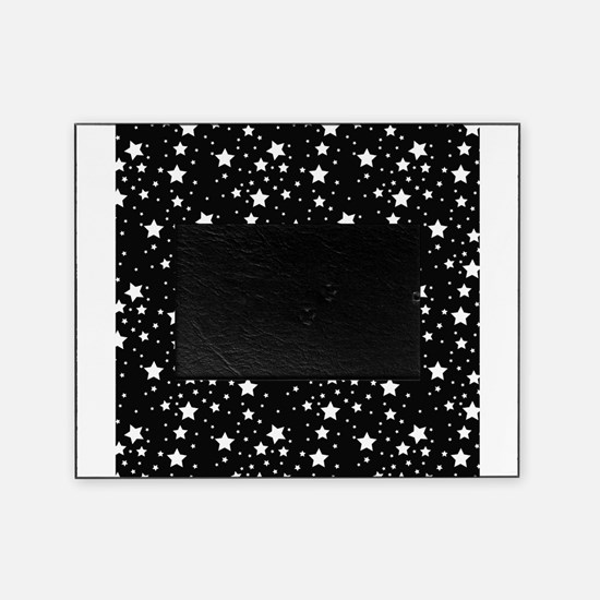Black and White Stars Picture Frame