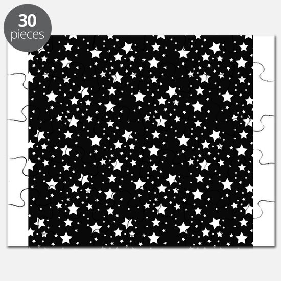 Black and White Stars Puzzle