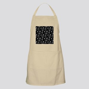 Black and White Stars Apron