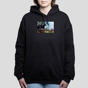 The Black Stallion Women's Hooded Sweatshirt