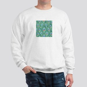 Peacock Feathers Sweatshirt
