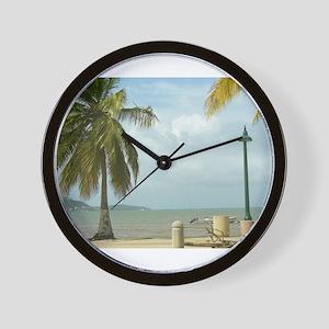 Puerto Rico Wall Clock