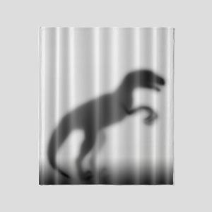 Raptor Silhouette Throw Blanket
