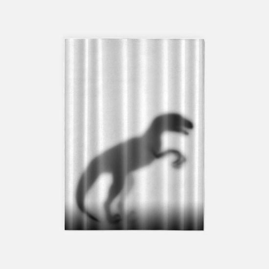 Raptor Silhouette 5'x7'Area Rug