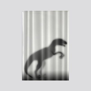 Raptor Silhouette Rectangle Magnet