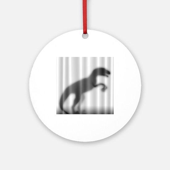 Raptor Silhouette Ornament (Round)